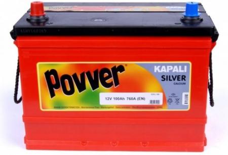 12V 100Ah 760A Kapalı Silver Calcium