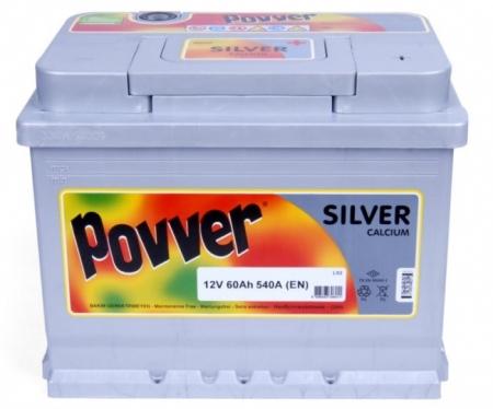 12V 60Ah 540A Silver Calcium
